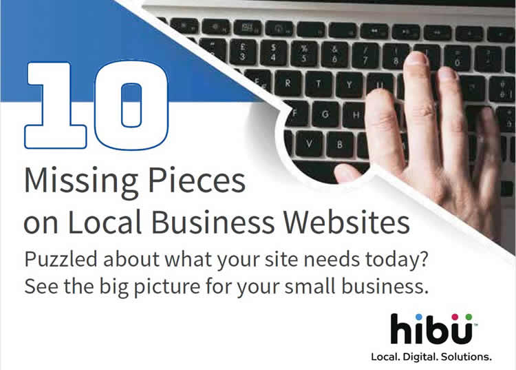 10 Missing Pieces on Local Business Websites - 100% Free White Paper