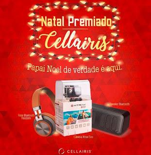 Cadastrar Promoção Cellairis Acessórios Natal 2016