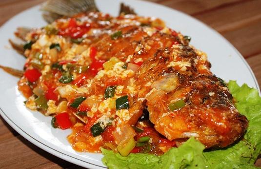 Resep masakan Ikan Nila rasa Asam Manis ala Jawa