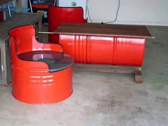 Seni Buat Perabot Guna Tong Drum