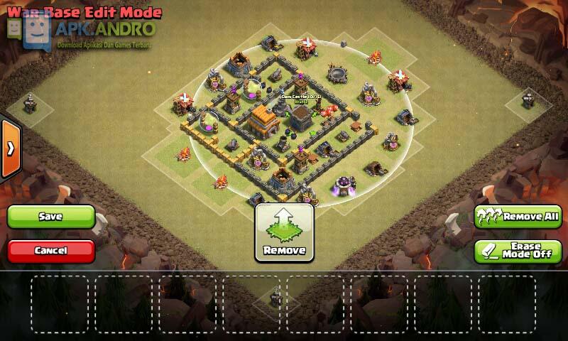 Base Coc Th 5 Untuk War Paling Kuat 10