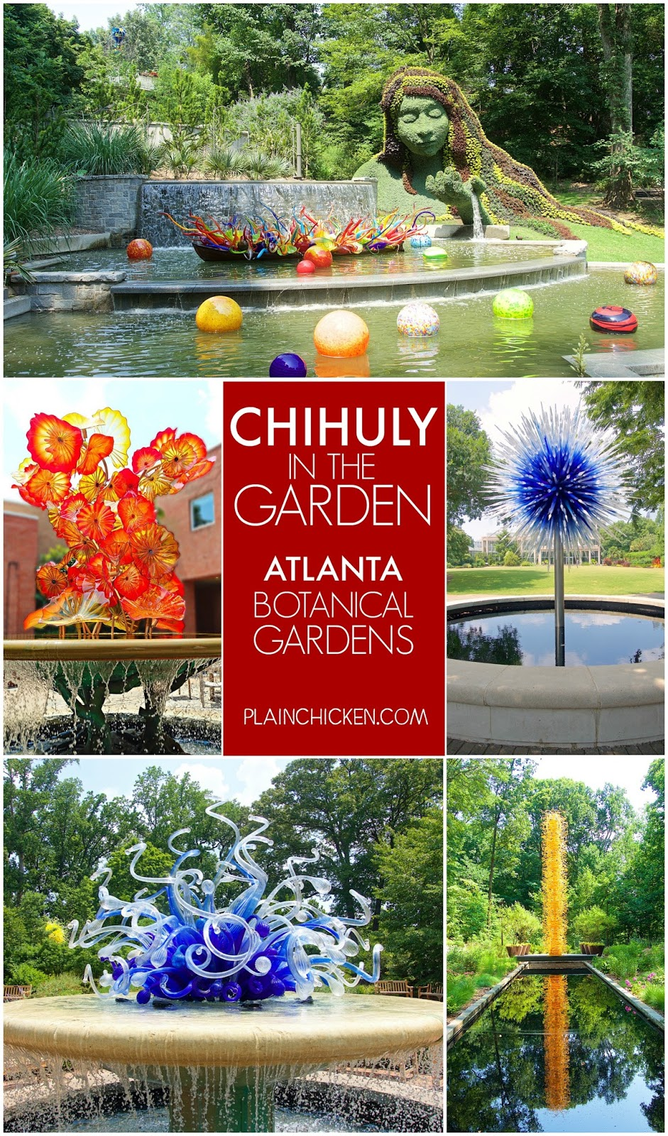 Bon Chihuly In The Garden   Atlanta Botanical Gardens   19 Installation Sites  All Around The Gardens
