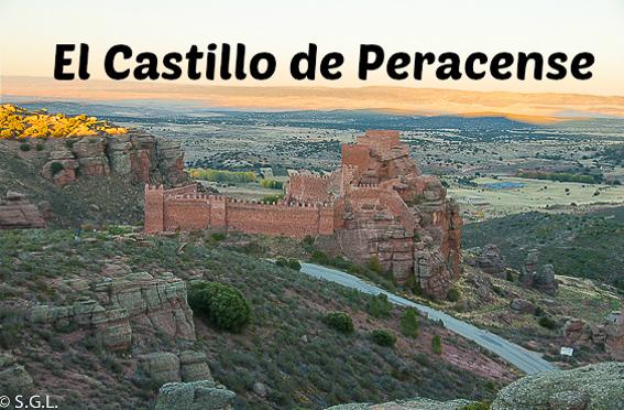 El castillo de Peracense. Teruel