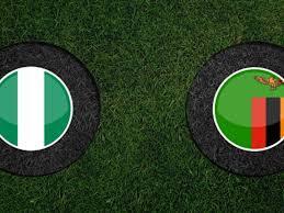القنوات الناقلة لمباراة نيجيريا وزامبيا اليوم match nigeria vs zambie