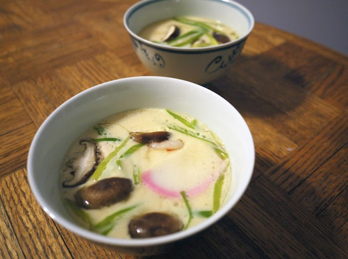 Resep Masakan Jepang Chawan Mushi Maknyus