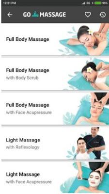cara pesan go massages go life