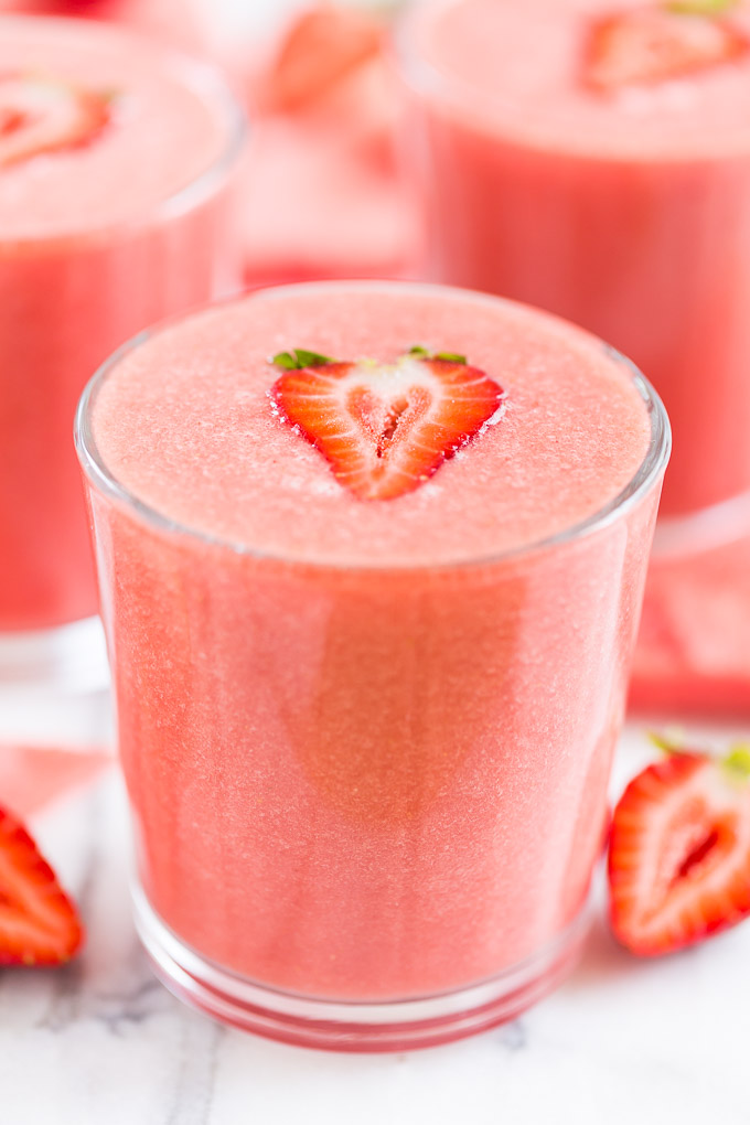 SIMPLE STRAWBERRY WATERMELON SMOOTHIE #smoothie #drink