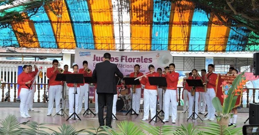 DRE San Martín: Colegio Ofelia Velásquez ganó concurso de bandas escolares de música - www.dresanmartin.gob.pe