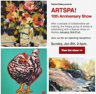 ArtSpa Exhibition at Teichert Gallery - JacquelineSteudler.com