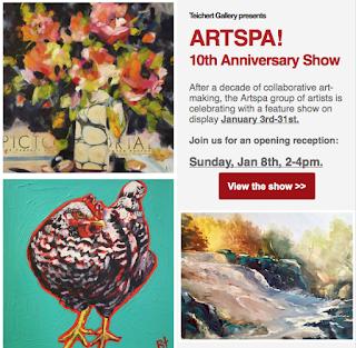 ArtSpa Exhibition at Teichert Gallery - JacquelineSteudler.com