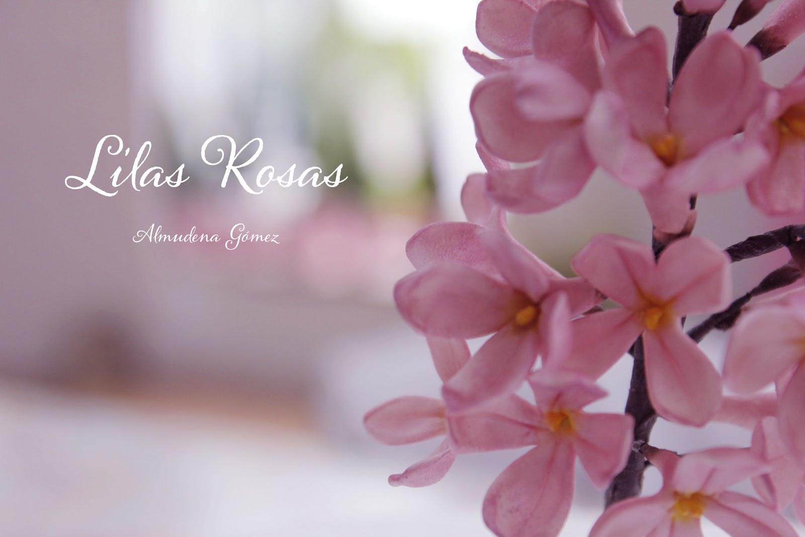 Dulcerías De Almudena Mis Lilas Rosas