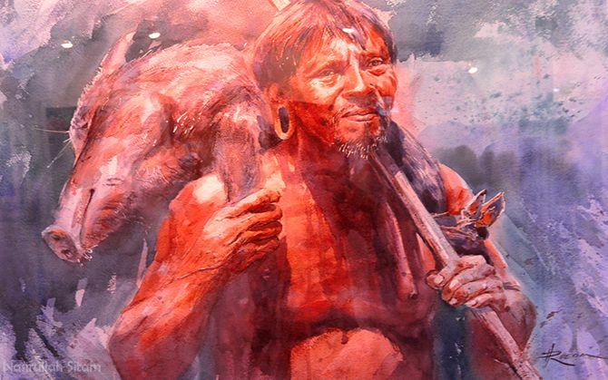 Victor Hugo Rueda Palacios (Ecuador) - Cazador Huaorani
