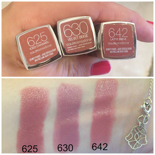 CHANEL AFTER COCO: MAKEUP REVIEW: MAYBELLINE NUDE LIPSTICKS