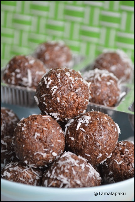 Chocolate Coconut Laddu