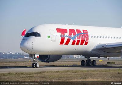 Airbus A350-941, PR-XTA, TAM Linhas Aéreas