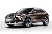 Infiniti QX50 Concept (2017) Front Side