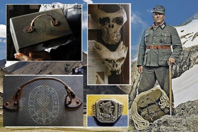 Encontraram uma Maleta muito antiga com Cranios de uma Criatura desconhecida