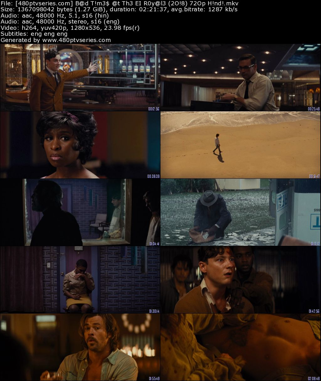 Download Bad Times at the El Royale (2018) Full Hindi Dual Audio Movie Download 720p Bluray Free Watch Online Full Movie Download Worldfree4u 9xmovies