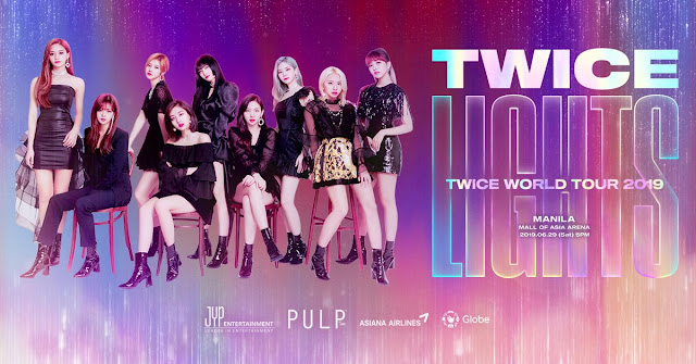 Twice is set to visit Manila for the Twicelights 2019 concert