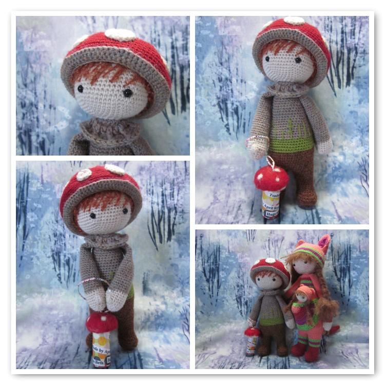 DIY Home Tutorial - Crochet A Cute similar Lalylala Doll - YouTube | 750x750