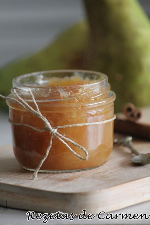 como hacer compota de pera y manzana