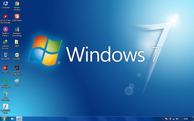 mengganti tema pada tampilan windows 7