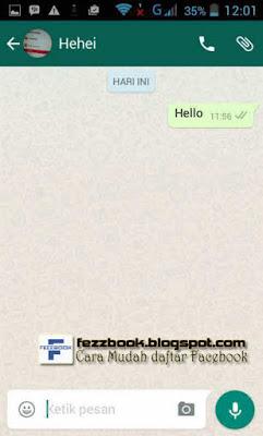 tutorial membuat dan daftar aplikasi whatsApp baru