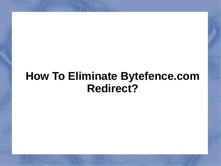 bytefence anti malware removal