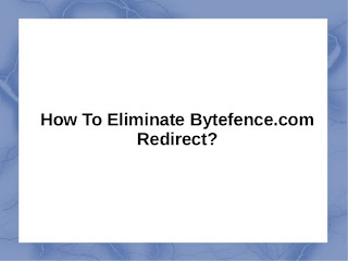 Remove Bytefence redirect