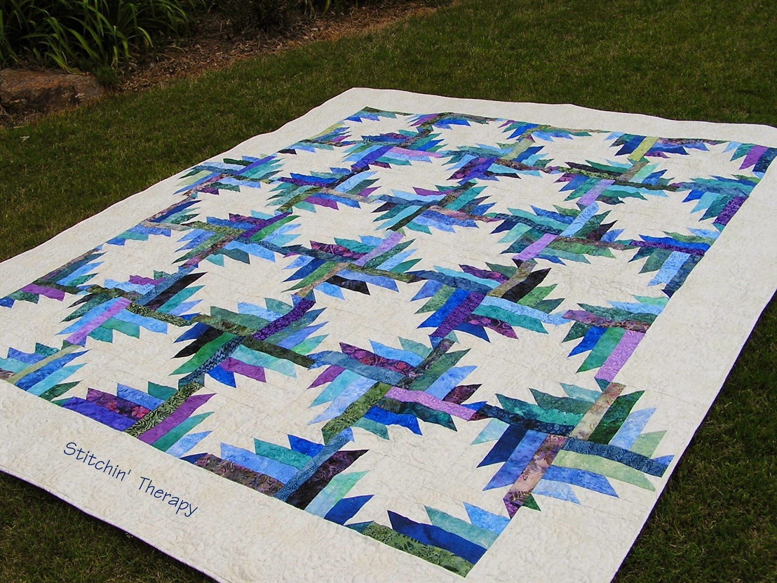 Stitchin Therapy 2014 Quilts