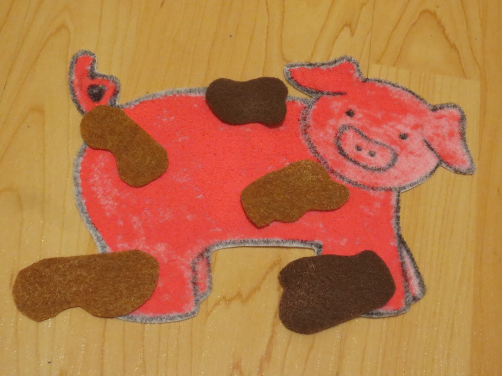 Project I Abbey Pigs Theme