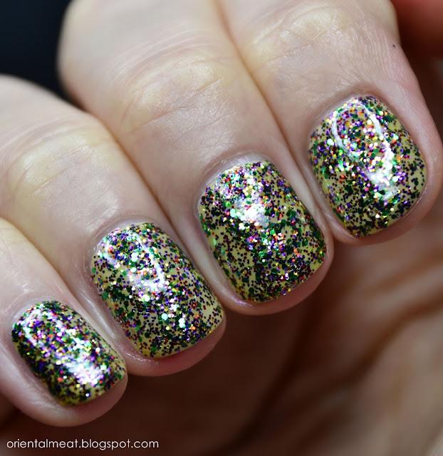 China Glaze-Glitter all the way