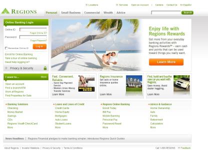 Regions Online Banking Enrollment or Application|My Login