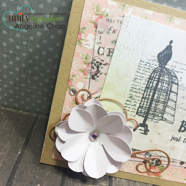 ScrappyScrappy: SOTW Just as you are #unitystampco #scrappyscrappy #sotw #card #stamp #vintage
