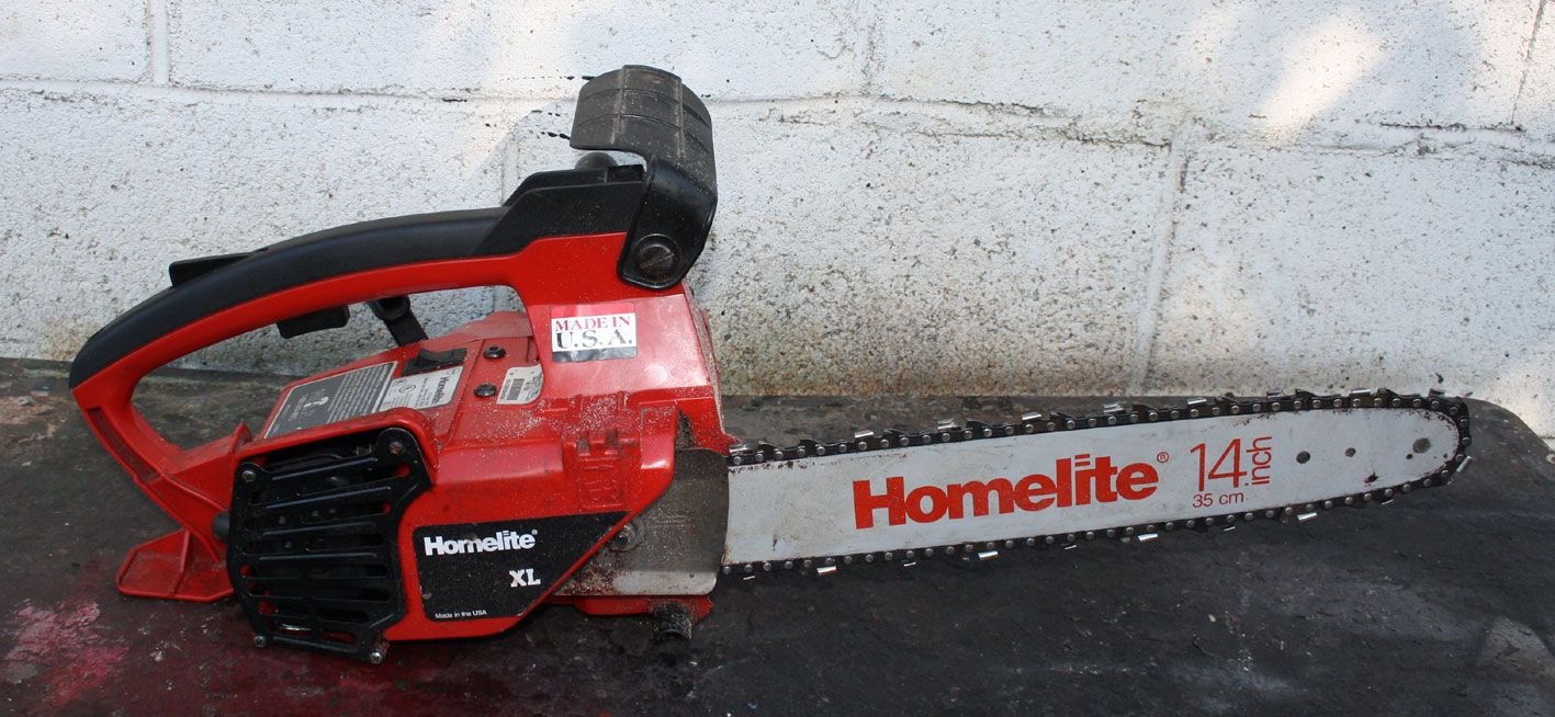 Homelite xl Little red chainsaw manual