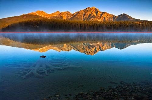 المصور منح ثلثين للبحر وثلث واحد فقط للجبال والسماء