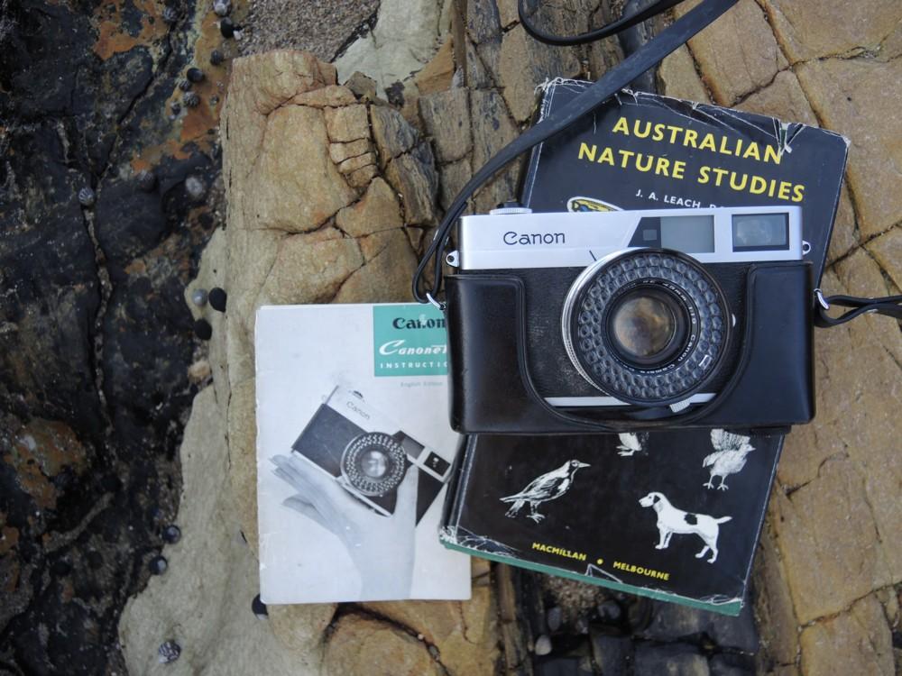 katiecrackernuts.blogspot.com || my grandfathers canon canonet camera