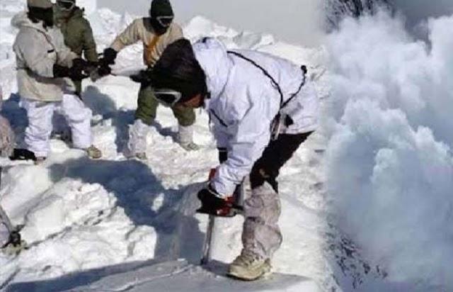 पीओके : बर्फीले तूफान से 5 सैनिकों की मौत, 109 हुई मृतकों की संख्या