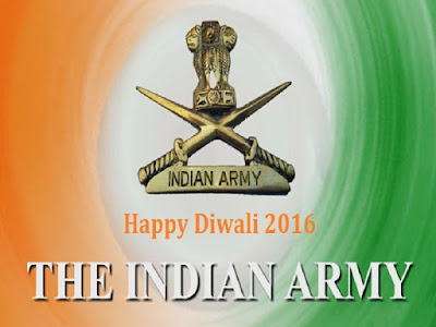 Happy Deepavali Wishes to Indian Army