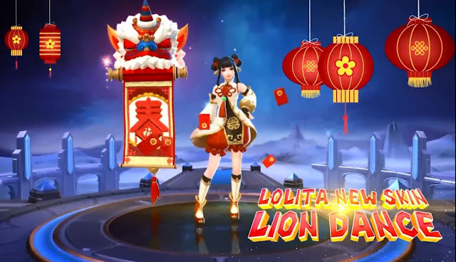 Lolita Special Skin Lion Dance Mobile Legends