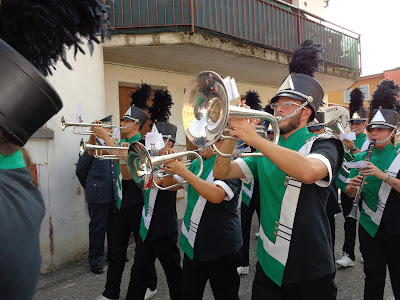 bedizzole marching band festa avis