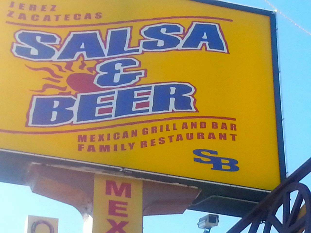Eat Drink And Be Me Salsa Beer