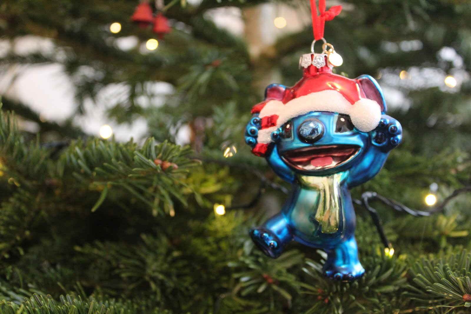 Lilo and Stitch Christmas Decoration