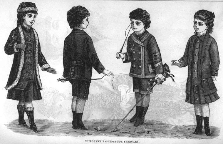 Late Victorian Era Clothing Late Victorian Era Children S