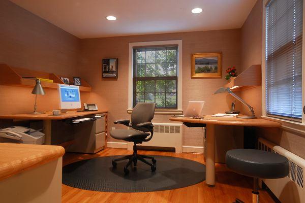 marvellous home office interior design ideas | Étapes pour créer un bureau de Maison organisé ~ Décor de ...