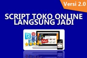 Script Toko Online Langsung Jadi V2 ( PLR )