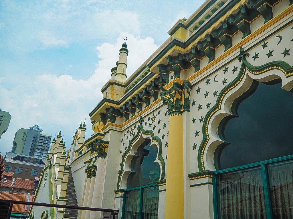 Masjid Abdul Gaffoor mosque in Little India, Singapore