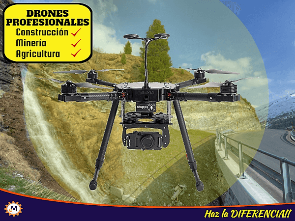 Drones Profesionales Para Construccion Agricultura Mineria