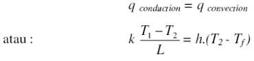 kumpulan rumus pengertian contoh soal fisika! konduksi ...