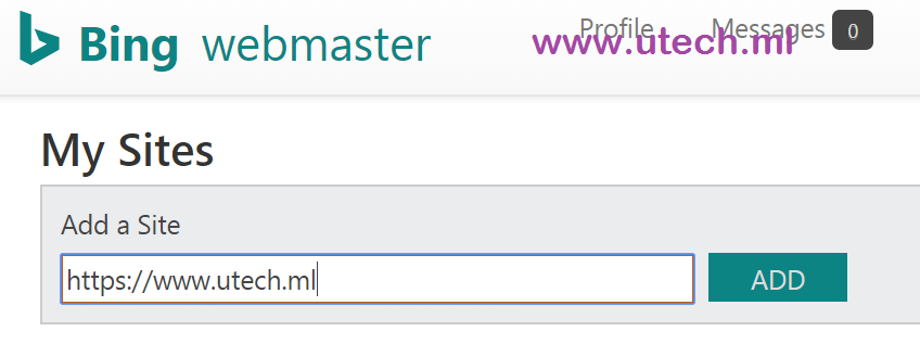 Submit A Sitemap To Bing Webmaster Tools